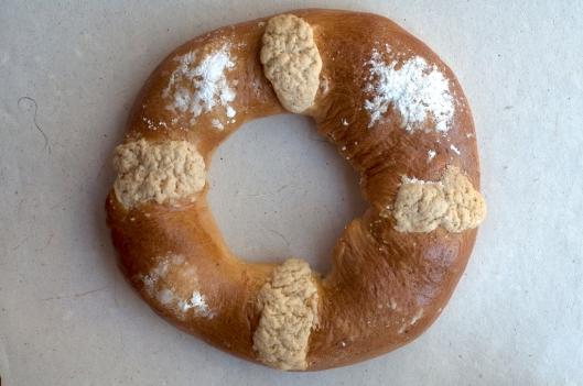 Home-made Rosca de Reyes, Oaxaca, Mexico / Andreja Brulc