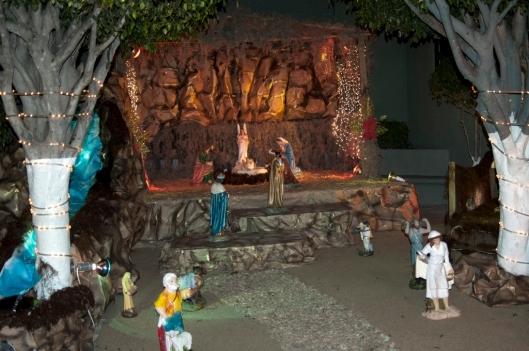 Nativity Scene at Colegio Motolinia De Antequera, Oaxaca, Mexico / Andreja Brulc