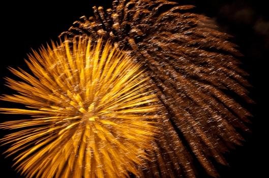 Fireworks for the Nochevieja, Oaxaca, Mexico / Andreja Brulc